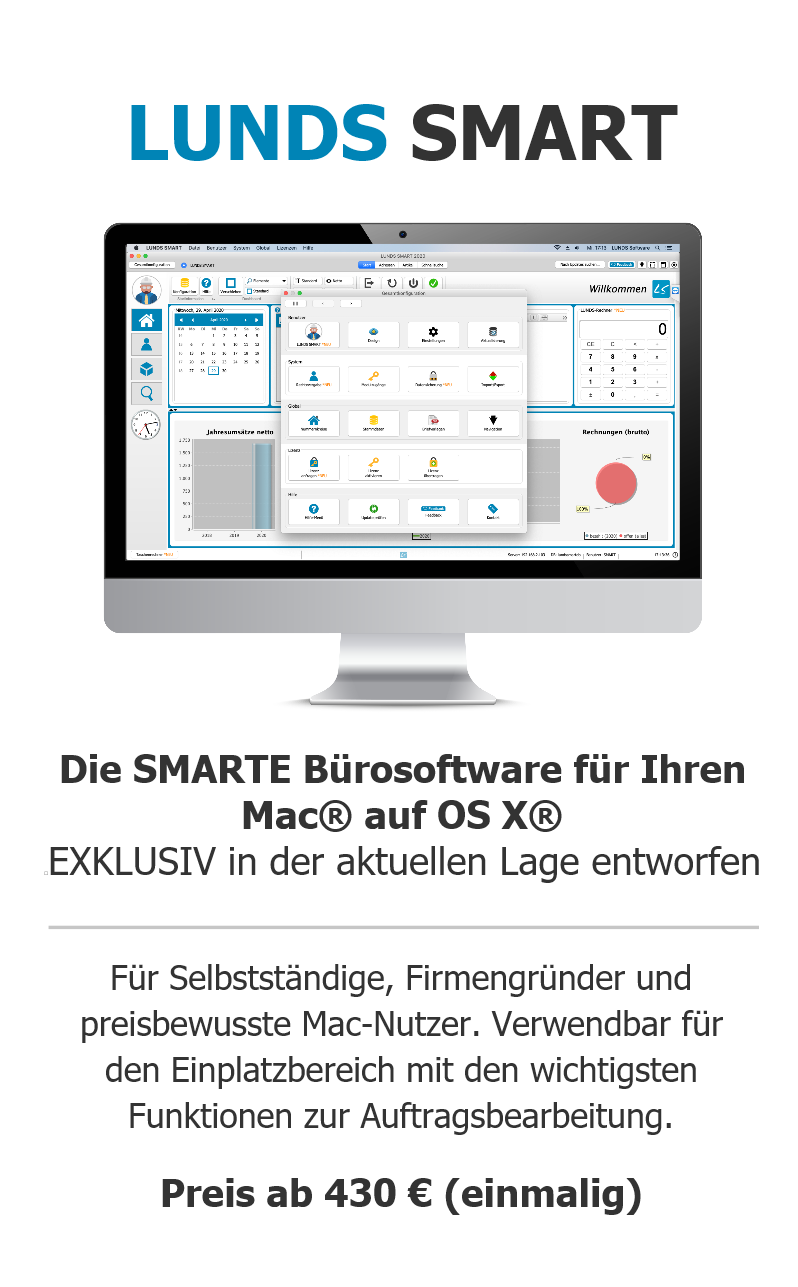 Lunds Software Start Handwerkersoftware Fur Apple Mac Os X Und In Der Cloud